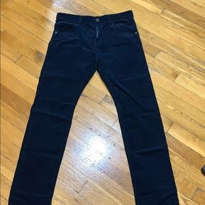 Zara Boys Blue Corduroy Pants